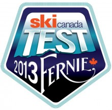 2013 ski testing by Ski Canada Magazine in Fernie next week