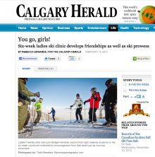 Enhance your Fernie ski weekends with ski school for adults - as featured in Calgary Herald