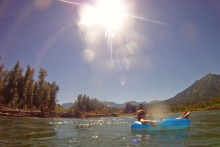 Rollin' on the River in Fernie BC