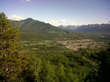 Summer Time and the Livin' is Easy in Fernie, BC!
