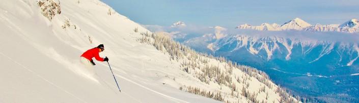 Skiing in British Columbia