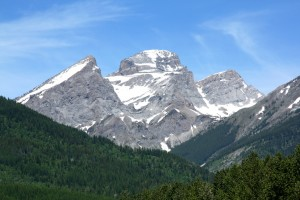 Fernie British Columbia Three Sisters
