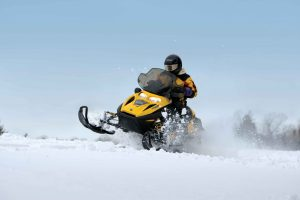 Winter Things to Do in Fernie BC - Snowmobiling