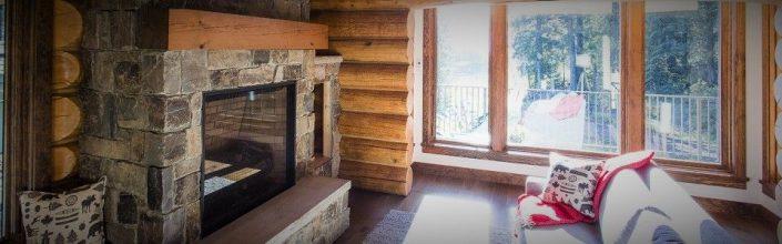 504 Cabin Rental Living Room Fernie BC