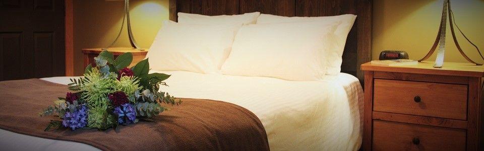 Fernie Cabin Rental Master Bedroom