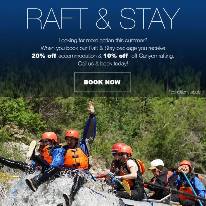 Raft and Stay Fernie Lodging
